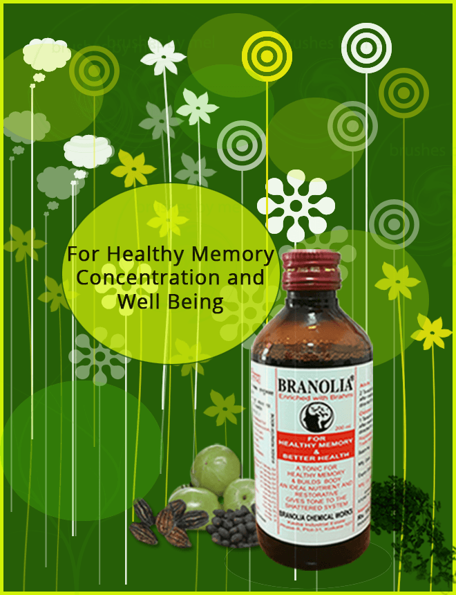 Branolia, memory enhancement tonic