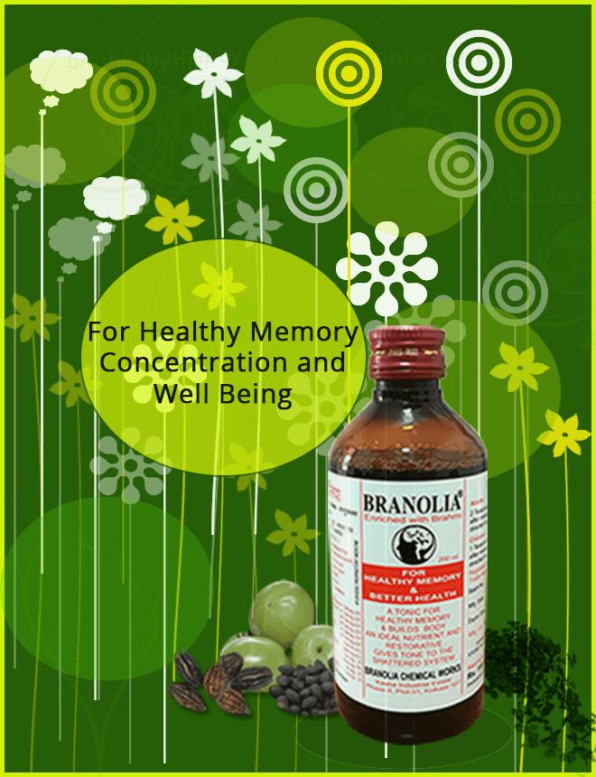 Branolia, memory enhancement tonic