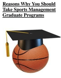 Career in Sports Management  source: galleryhip