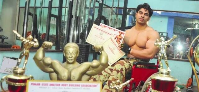Anand Arnold, India's First Wheelchair Bodybuilder Source: indiatimes